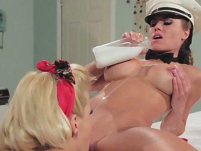 Adriana Sephora in Girl not susceptible Girl Milk