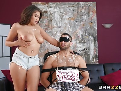 Cassidy Banks decides to have a little fun and hard sex with a friend