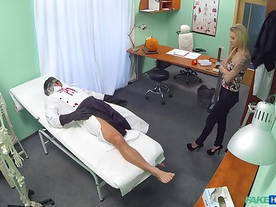 Steamy scenes be expeditious for merciless sex with a young patient