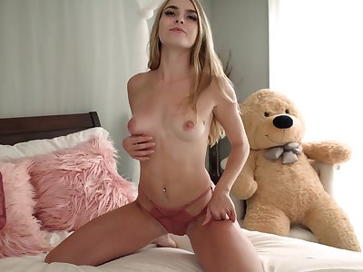 Young Beauteous with perky tits in Solo exaggeration